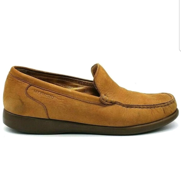 Mephisto Other - Mephisto Mens Shoes Nubuck Leather Slip On Loafer